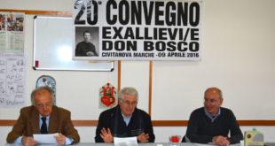 Foto Exallievi San Marone: Gianfranco Palmieri, don Giovanni Molinari, don Ubaldo Montisci