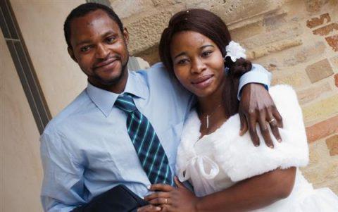 Il giorno delle loro nozze (foto gentilmente concessa da Cristina Girotti)