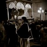 Montegiorgio: immagini suggestive della processione del Vnerdì Santo